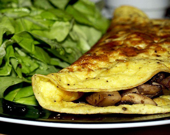 Omelette ai funghi