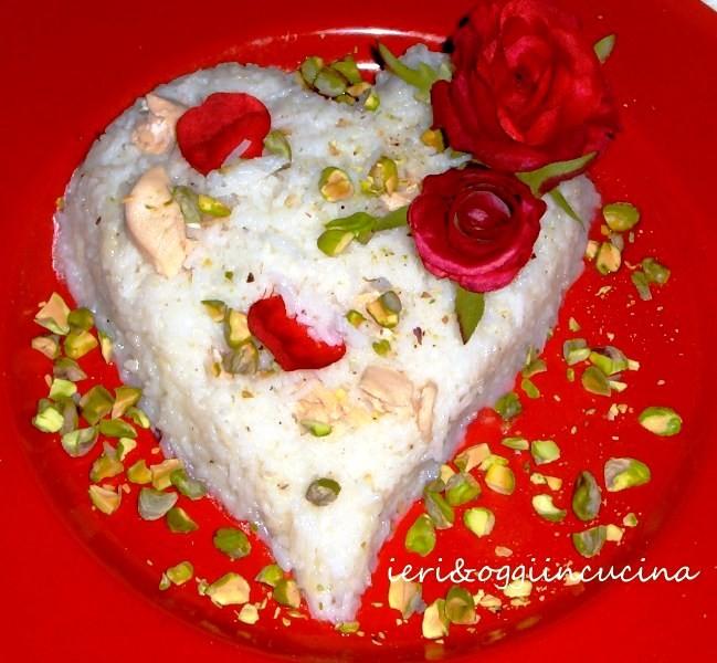 riso petali di rosa