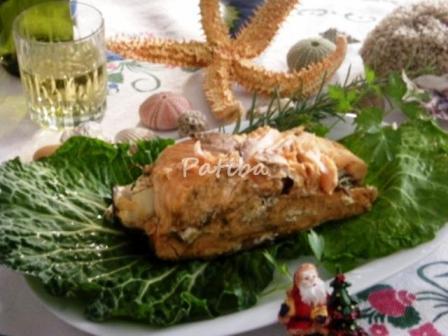 Salmone in crosta di sale