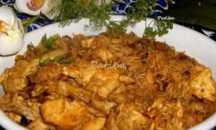 Riso Basmati con pollo e profumato di spezie