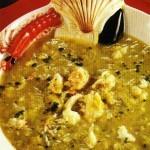Zuppa di polpa di granchio
