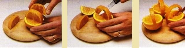 Cestini di arance