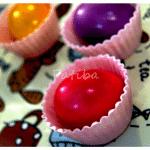 cestini alimentari con uova sode decorate