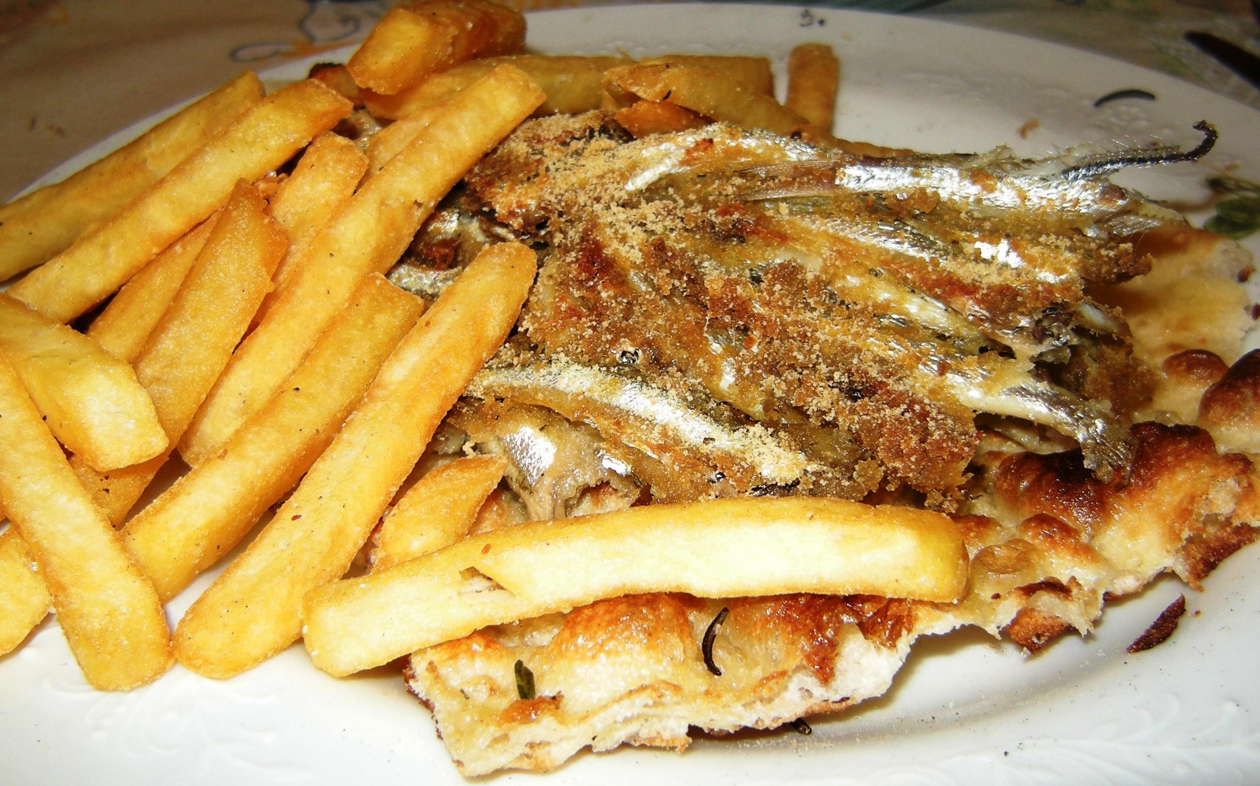 Fish and chips... all'italiana