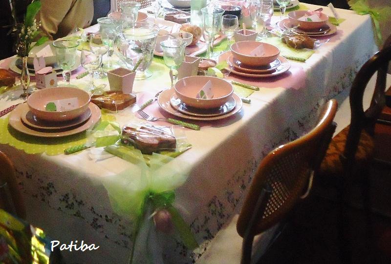 Apparecchiare e decorare la tavola di PASQUA