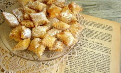 Pasta fritta: Tortelli di frutta per Quaresima - Petronilla