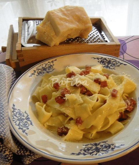 Pappardelle ar mascarpone, la ricetta-sonetto di Aldo Fabrizi