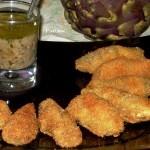 Fritto di carciofi con salsa d'acciughe Petronilla