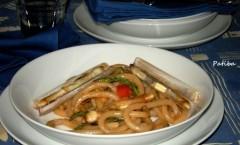 Pici senesi con asparagi selvatici di pineta e cannolicchi