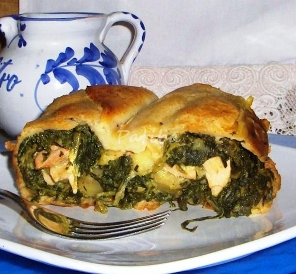 Plumcake di salmone e spinaci