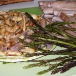 ta con cannolicchi e asparagi