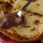 Crêpes alla nutella