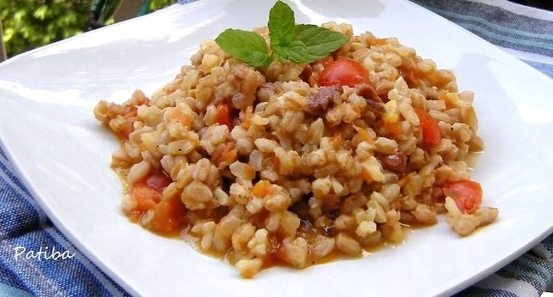 Farrotto/Orzotto al pomodoro