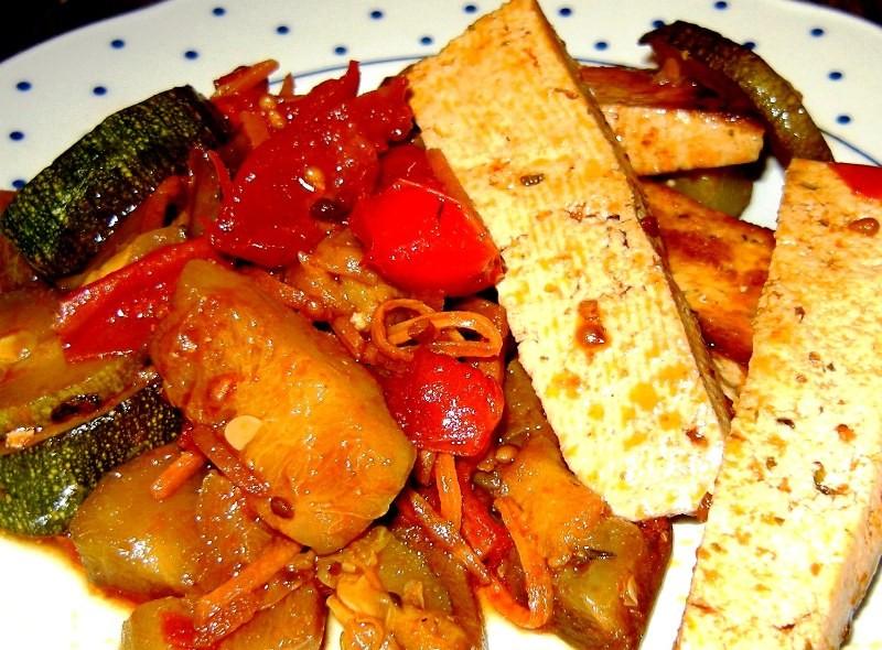 Stufato di Tofu con verdure