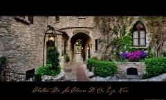 Pranzo romantico al castello in Provenza