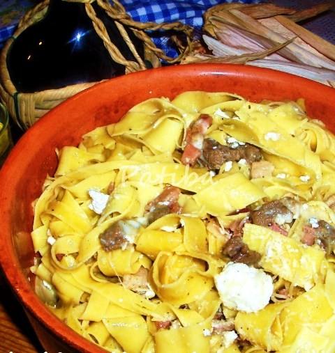 Lasagne ar biondo Tevere ricetta di Aldo FABRIZI