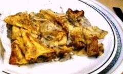 La pasta al forno: Lasagne al tartufo