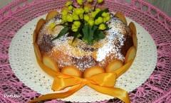 Torta bicolore con Crema Chantilly