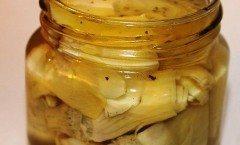 Carciofini sott'olio alla maniera di Petronilla