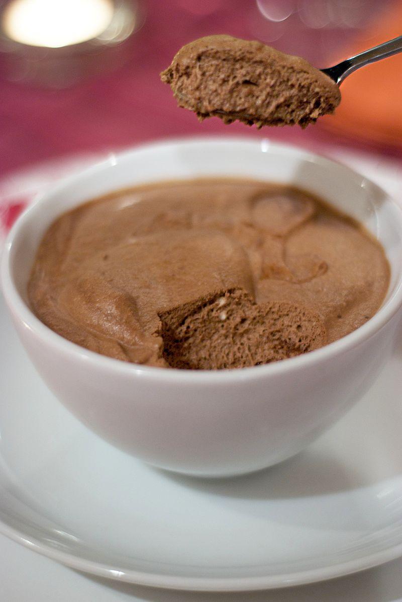 Mousse ricca al cioccolato