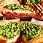 Crostata  carne  piselli