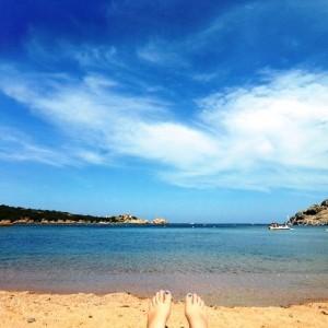 Spiaggia Di Spalmatore La Maddalena SARDEGNA