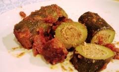 Verdure ripiene: Zucchine ripiene dell'Artusi
