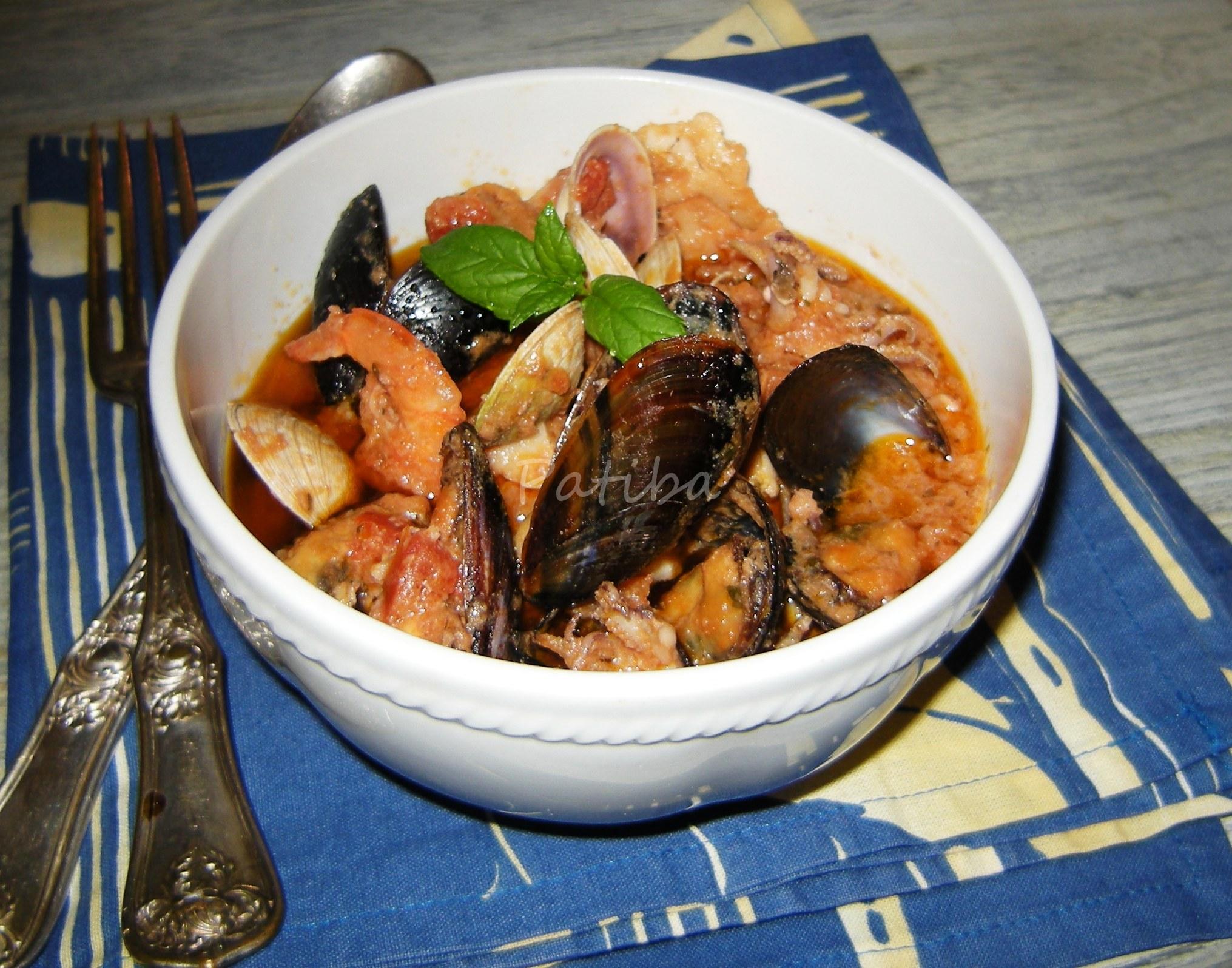 Zuppa di pesce alla maniera di Petronilla