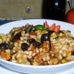 Farro con verdure e aceto balsamico