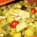 tajine pollo verdure (12)