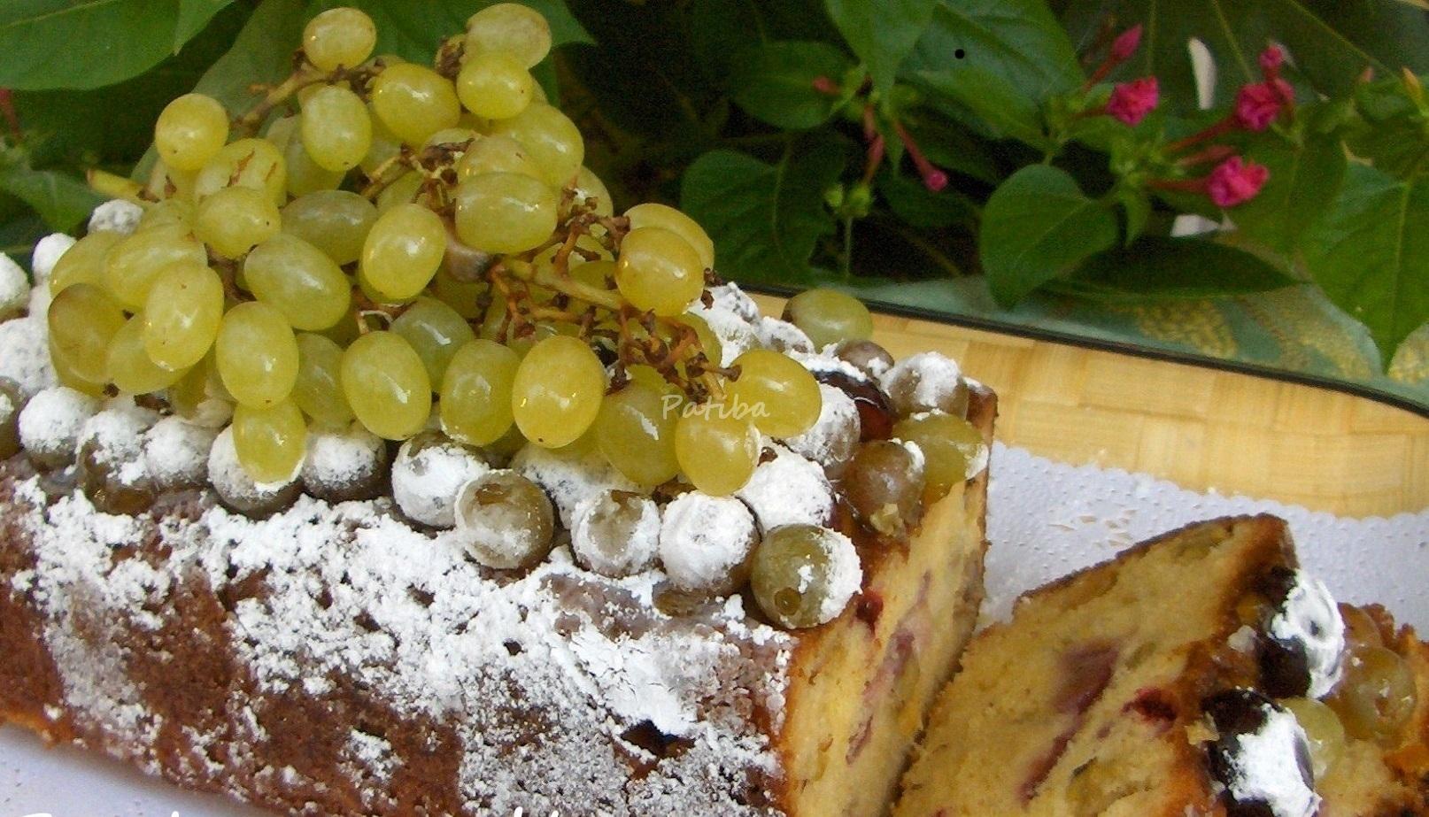 Torta con l 'uva