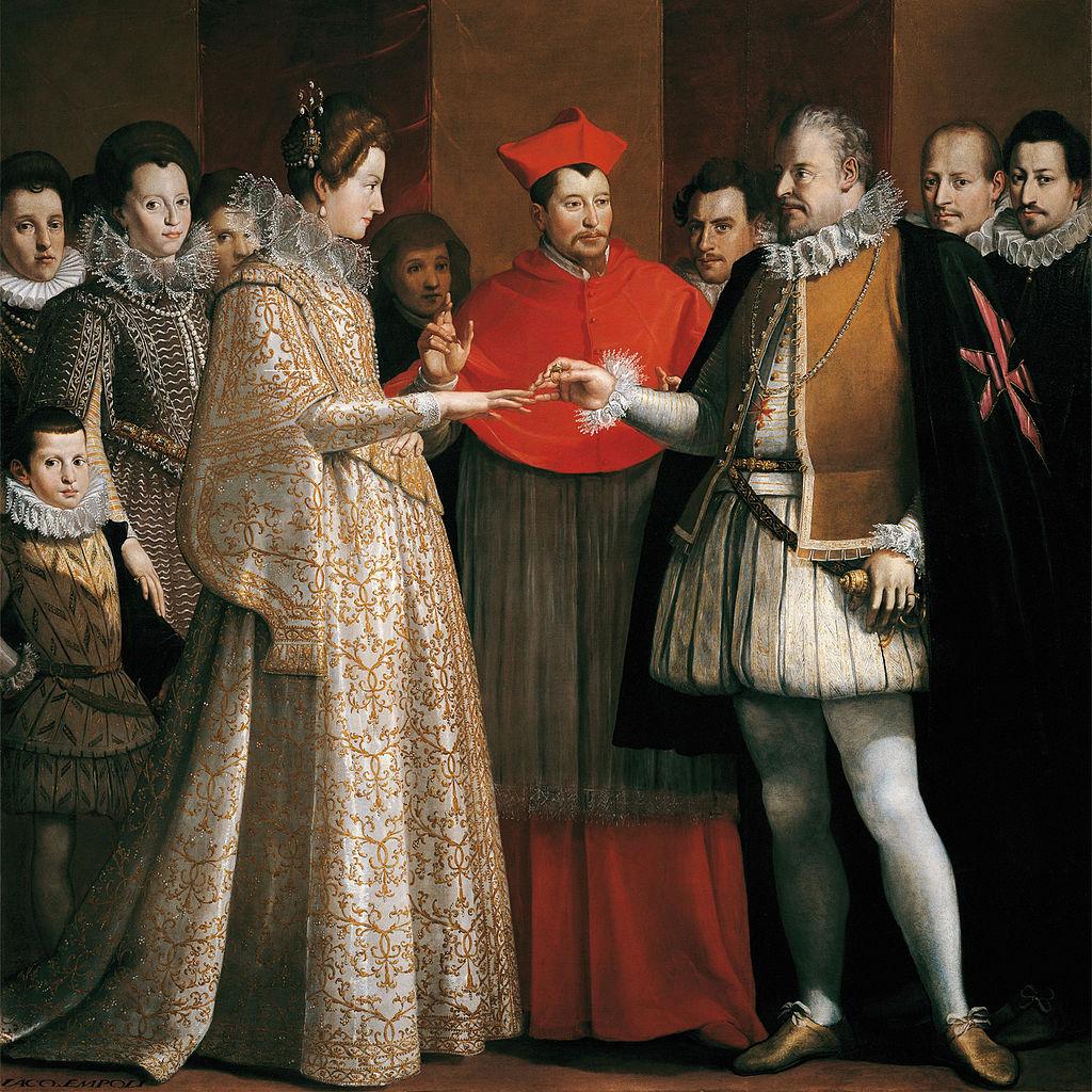 A.D. 1600 - Banchetto per le nozze di Maria de' Medici