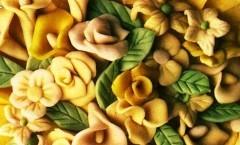 fiori di marzapane