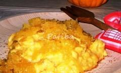 Zuf, la Polenta con la zucca alla friulana