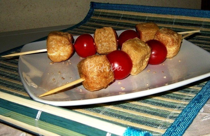Bocconcini di Tofu fritto