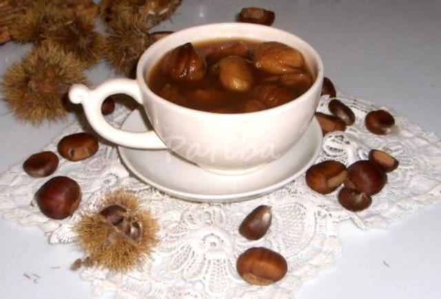 Cuciarul romagnoli con castagne secche