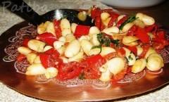 Fagioli con i peperoni