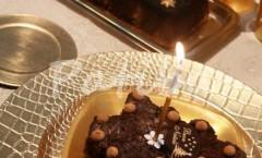 Crème caramel alle castagne Alberello natalizio di brownie ed amaretti