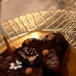 creme carame alle castagne e alberino di brownies con amaretti (2)