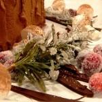Frutta zuccherata à la neige (brinata) alla maniera di Petronilla