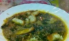 Minestra di lenticchie con cavolo nero toscano e crostini