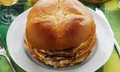 Panettone gastronomico, Pan Canasta