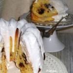 torta cocco cioccolato glassa
