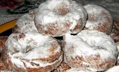 Ciambelline di San Martino con batate (patate dolci americane)