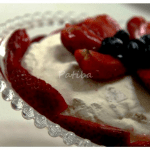 Strawberry Pavlova, Torta Pavlova alle fragole