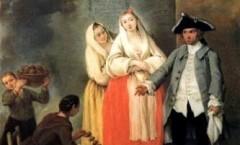 La venditrice di frittole, Pietro Longhi -1750