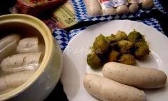 Weißwurst di Monaco, salsicce bianche