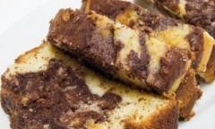 Ciambella bicolore al cacao