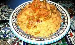 Cous cous al tonno e piselli