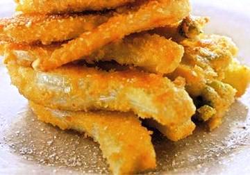 Finocchi fritti come antipasto o contorno